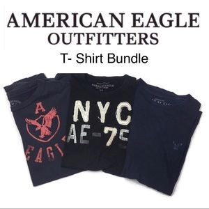 American Eagle T-Shirt Bundle Size Small